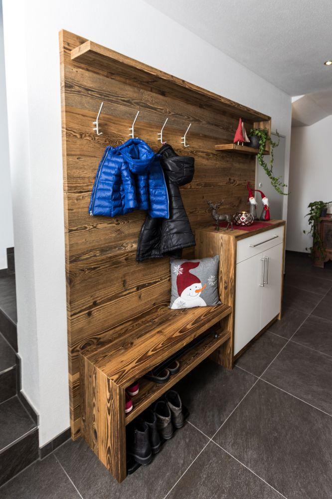 Garderobe aus altholz die sch nsten einrichtungsideen for Garderobe altholz